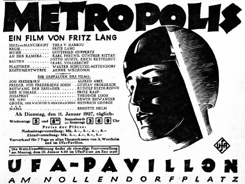 METROPOLIS IN BERLIN